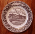 Bussey, Mary.  A collector's plate depicting the Calvary Pentecostal Tabernacle, St....