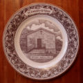 Bussey, Mary.  A collector's plate depicting the All Saints Anglican Church, St. Lunaire-Griquet.