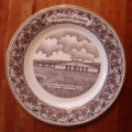 Bussey, Mary.  A collector's plate depicting the Bayview Regional Collegiate, St. Lunaire-Griquet.