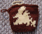 Simmonds, Mary Jane.  Island of Newfoundland knitted pattern done by Mary Jane Simmonds, Conche,...