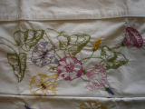 Genge, Eliza.  Floral embroidered pillow cases made by Eliza Genge, Anchor Point.