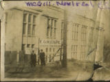 McGill University, Montreal Quebec. Black and white photograph.