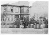 Taylor House 2. Black and white photograph.