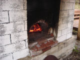 French Shore Interpretation Centre.  The outdoor oven at the French Shore Interpretation Centre,...
