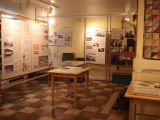 French Shore Interpretation Centre.  The interior of the French Shore Interpretation Center,...