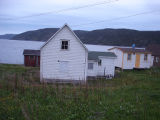 An abandoned property, Conche, Newfoundland.