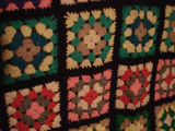Dower, Alice.  An afghan crocheted by Alice Dower, Conche, Newfoundland.