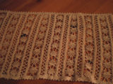 Whalen, Polly.  Crocheted table runner made by Polly Whalen, Flower's Cove.