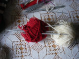 Rice, Betty.  Betty Rice's homespun wool with four needles for double-knitting, Main Brook.