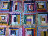 Elliott, Mary.  A 'mile-a-minute' quilt, Main Brook.
