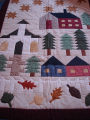 Elliott, Jaunita.  A country themed quilt made by Juanita Elliott, Main Brook.