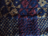 Fillier, Rita.  Close-up of the traditional diamond pattern by Rita Fillier, Main Brook.