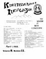 kinatuinamot illengajuk, 1988-04-01, vol. 08, no. 11