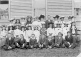 Students at the Methodist School, Bonavista