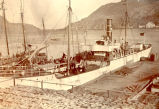 S.S. Jamaica tied up at Job Brothers & Co. north side premises, St. John's harbour