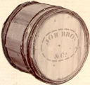 Job Brothers and Co. shipping barrel.
