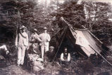 """The King & Party. Camping at Placentia, 1902.''"