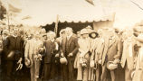 L-R: Rev. Thomas Nangle, Governor Allardyce, ?, Field Marshall Haig, Lady Haig, Lady Allardyce,...