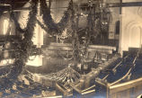 ''Xmas Decorations, Gower St. Church, 1903.''