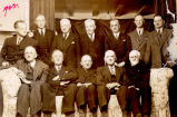 Group of twelve prominent businessmen