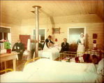 ''Battle Harbor Hosp. Interior''