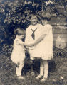 Yvonne, James and Patricia Rorke, as children