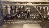 ''Grand Falls school children celebrating coronation of King George V and Queen Mary''