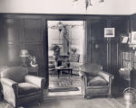 Interior view of James Rorke's home, ''Dunrovin'', Carbonear