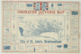 Coronation souvenir map, 1937 : City of St. John's, Newfoundland
