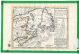 New Found Land, St. Laurence Bay, the fishing banks, Acadia, and part of New Scotland