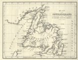 Map of Newfoundland for McGregor's British America