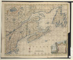 A map of New England and Nova Scotia; with part of New York, Canada, and New Britain & the...