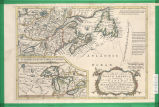 Part of North America; containing Canada, the north parts of New England and New York; with Nova...