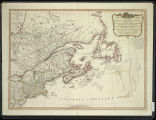 A new and correct map of the British colonies in North America comprehending eastern Canada with the