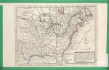 A new map of ye north parts of America claimed by France under ye names of Louisiana, Mississippi,...