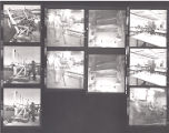 January 1974 Negative no. 84B and Negative no. 85 [boat and classroom?]