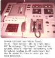 Communications and alarm panel, Canmar Explorer III, Beaufort Sea
