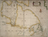A new and correct chart of the north part of America from New Found Land to Hudsons Bay
