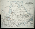 Forts and trading posts in Labrador Peninsula and adjoining portions of Ontario and Quebec