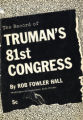 The record of Truman's 81st Congress