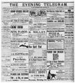 Evening Telegram (St. John's, N.L.), 1901-09-02