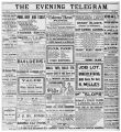Evening Telegram (St. John's, N.L.), 1901-11-26