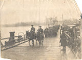 "08.02.041: ""Royal Newfoundland Regiment Crossing the Rine [Rhine], Colon [Cologne],..."